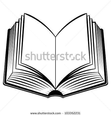 450x470 Book Torch Clipart