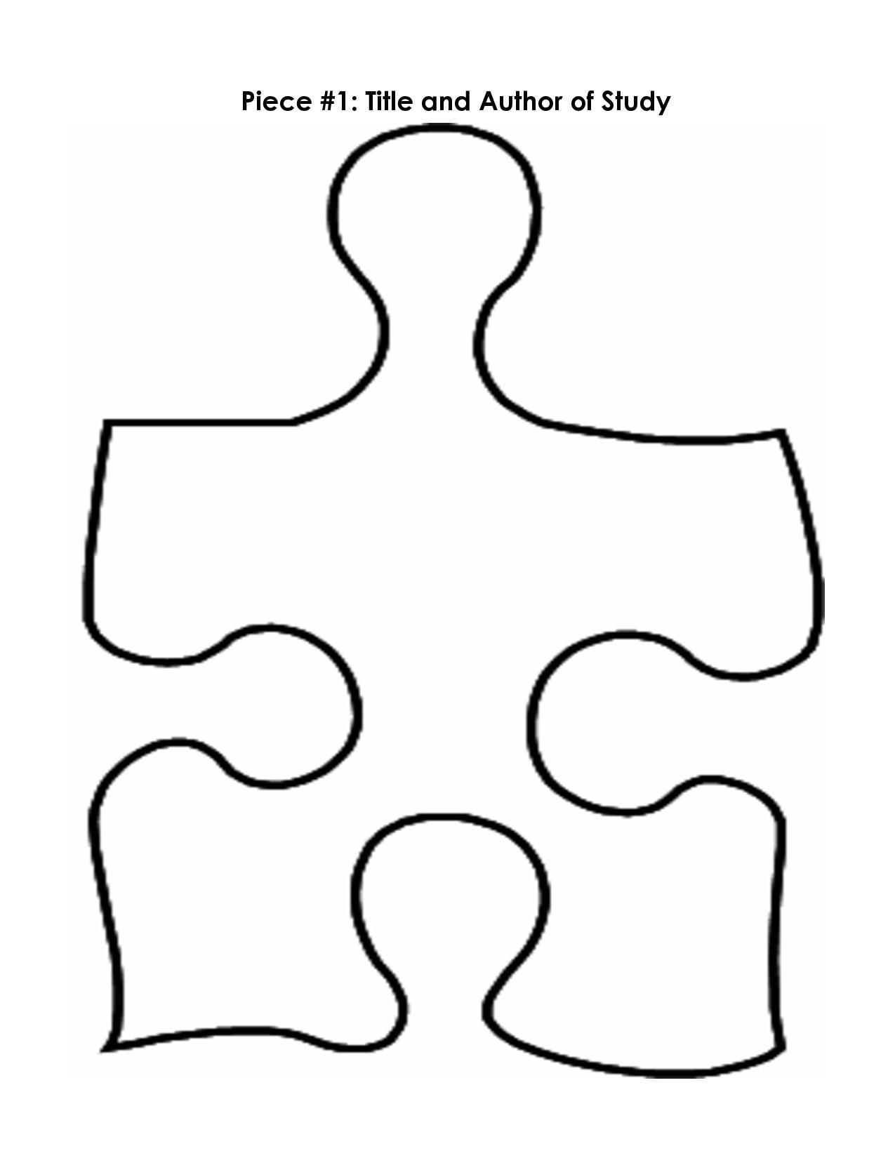 1275x1650 Blank Puzzle Pieces Clip Art