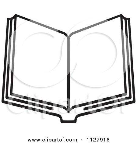 450x470 Open Book Black And White Clipart