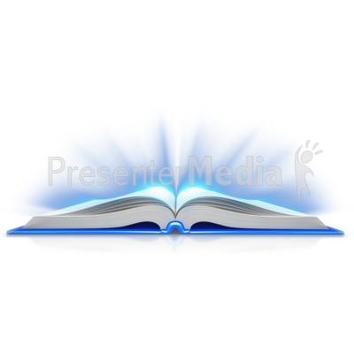 400x400 Open Book Clipart Blue