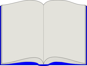 299x228 Open Book Clip Art Template Free Clipart Images 4 Klipart