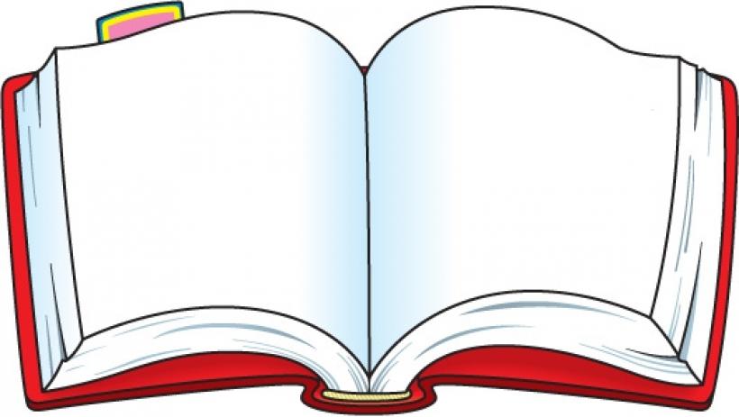 820x463 Stories Clipart Open Book