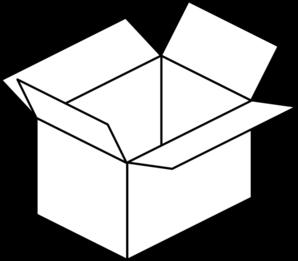 298x261 Carton Open Box Clip Art