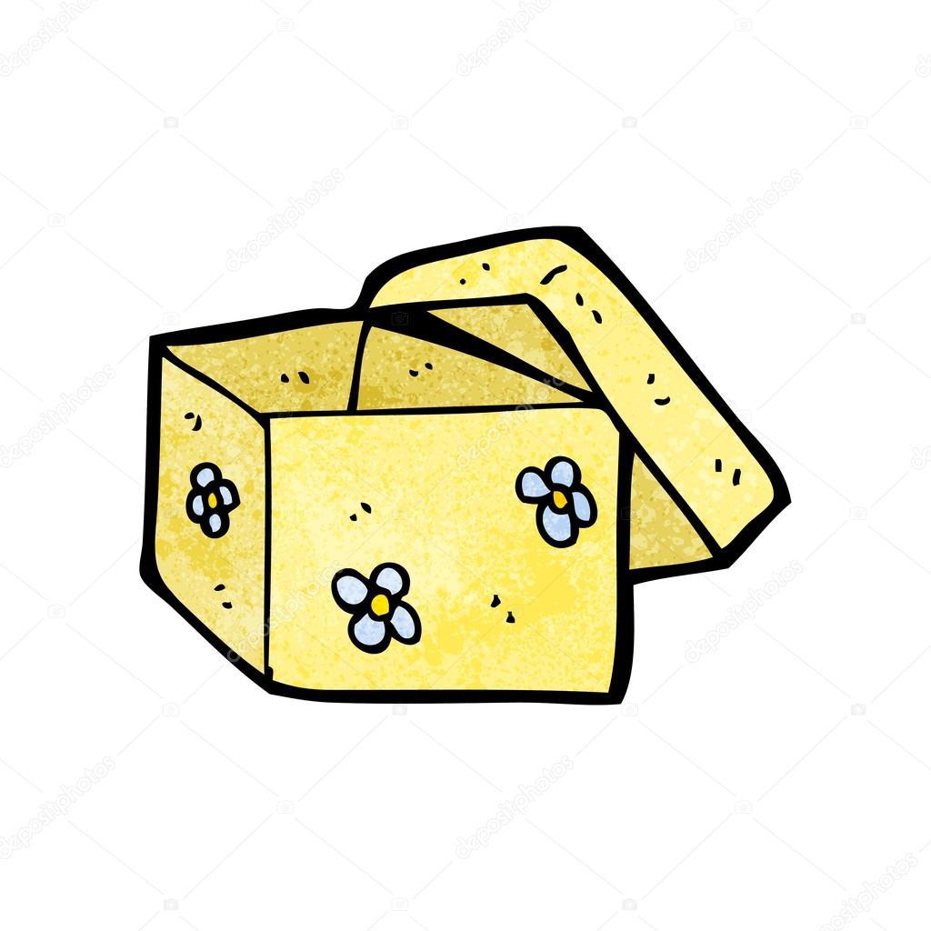 1024x1024 Cartoon Open Box Stock Vector Lineartestpilot