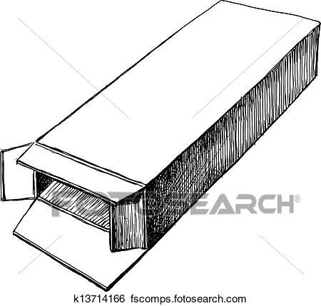 450x429 Clip Art Of Open Box K13714166