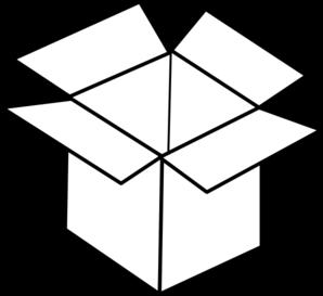 298x273 Box Clip Art