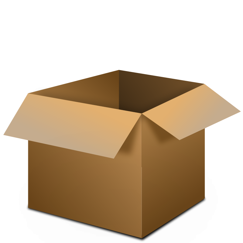 800x800 Open Box Open Clipart Free Images