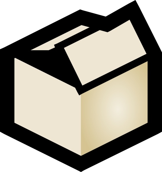 546x582 Box Clip Art Free Vector In Open Office Drawing Svg ( Svg