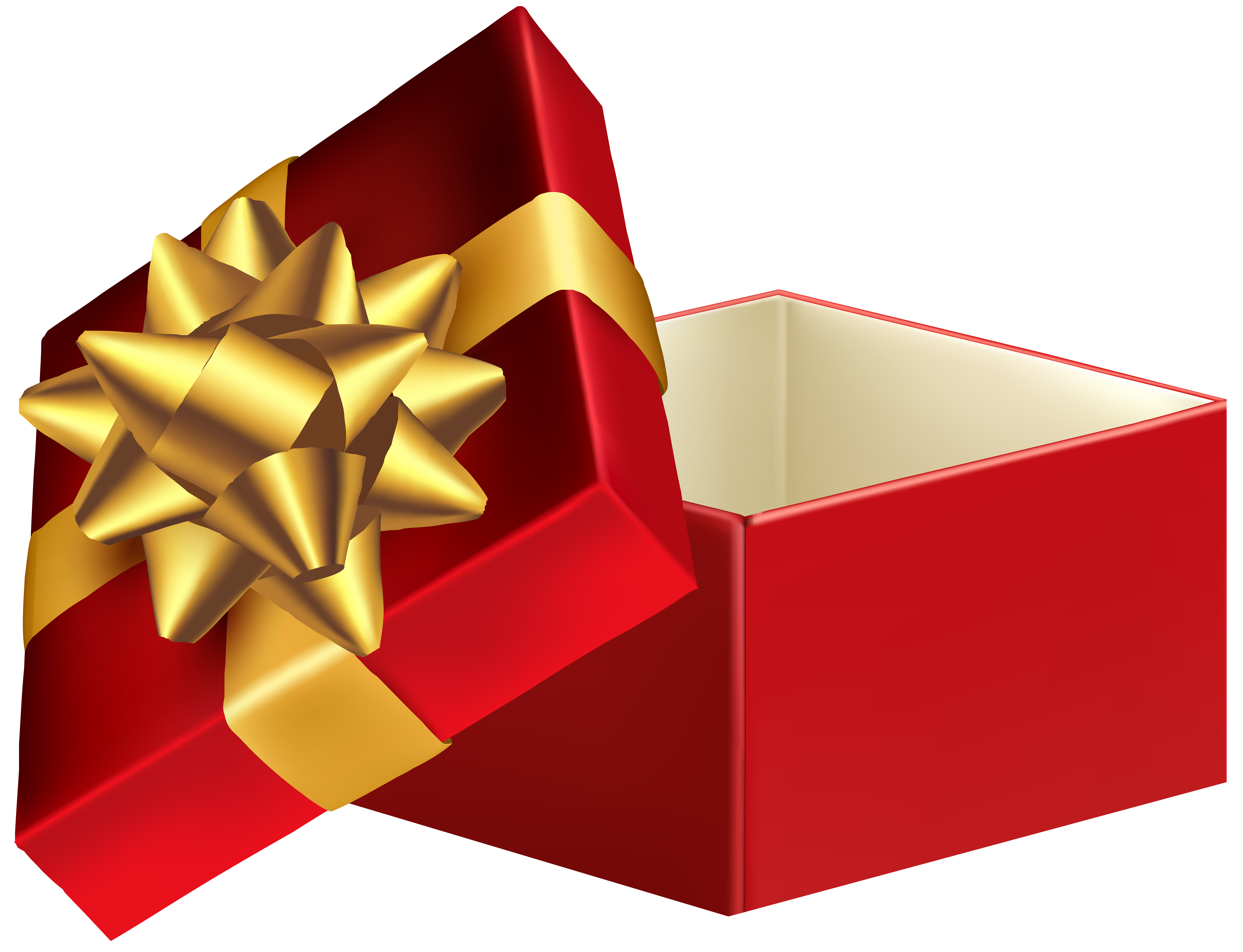 8000x6127 Red Open Gift Box Png Clip Art Imageu200b Gallery Yopriceville