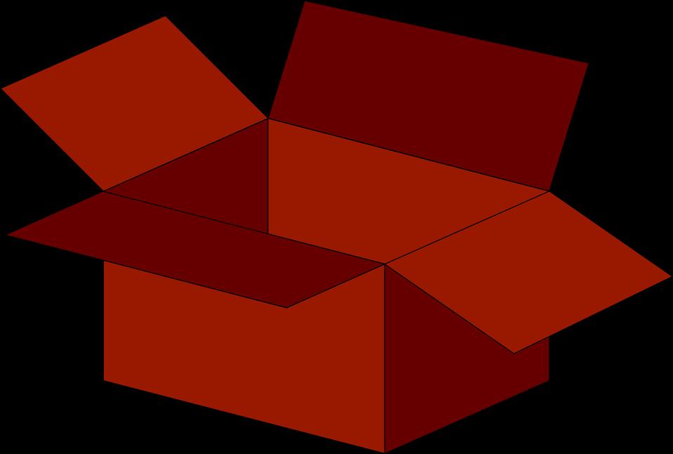 958x646 Box Clipart Empty Box
