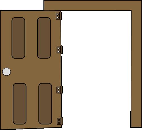 500x458 Open Clip Art Image