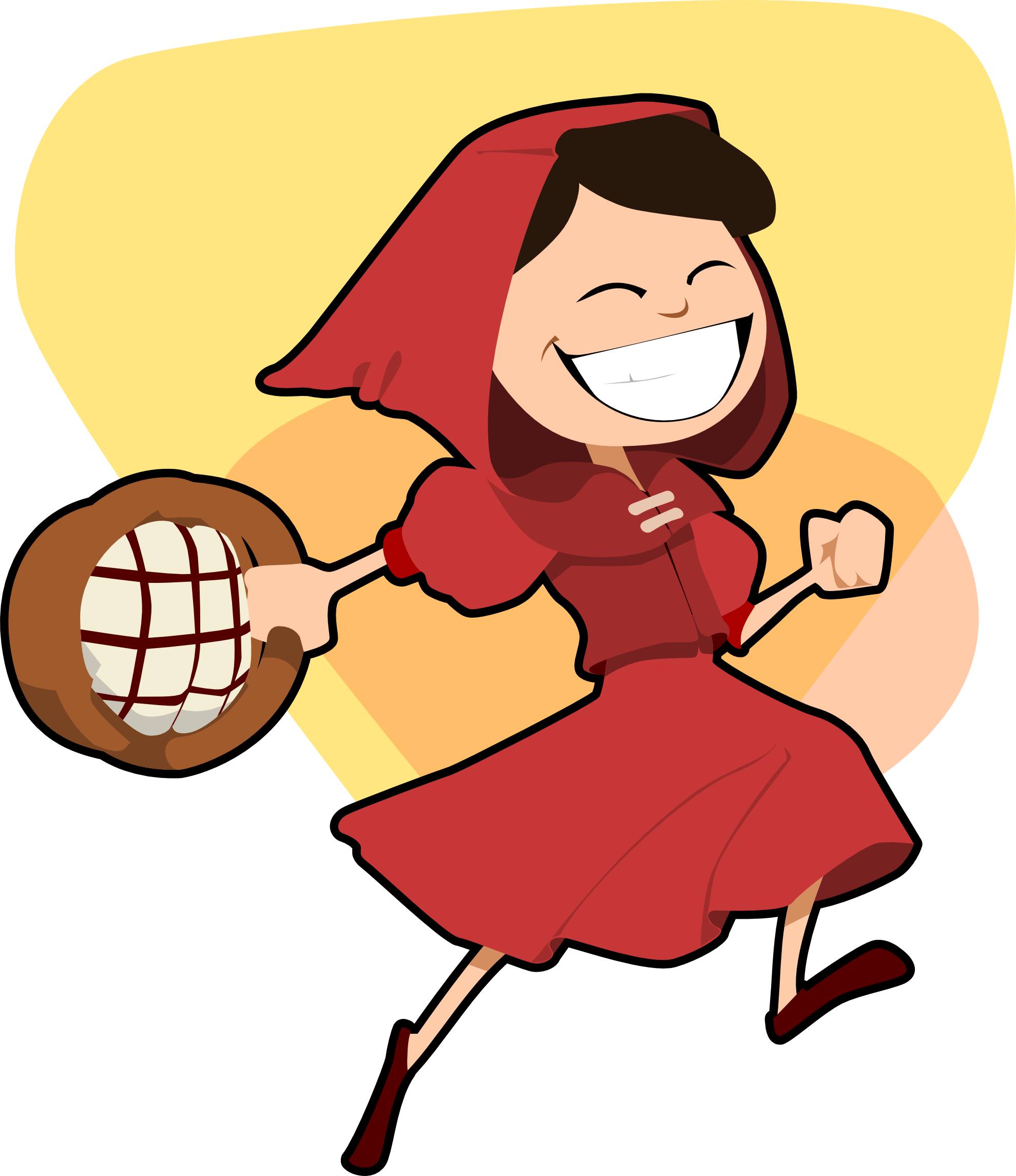 1979x2290 Clip Art Little Red Riding Hood Art Clipartist