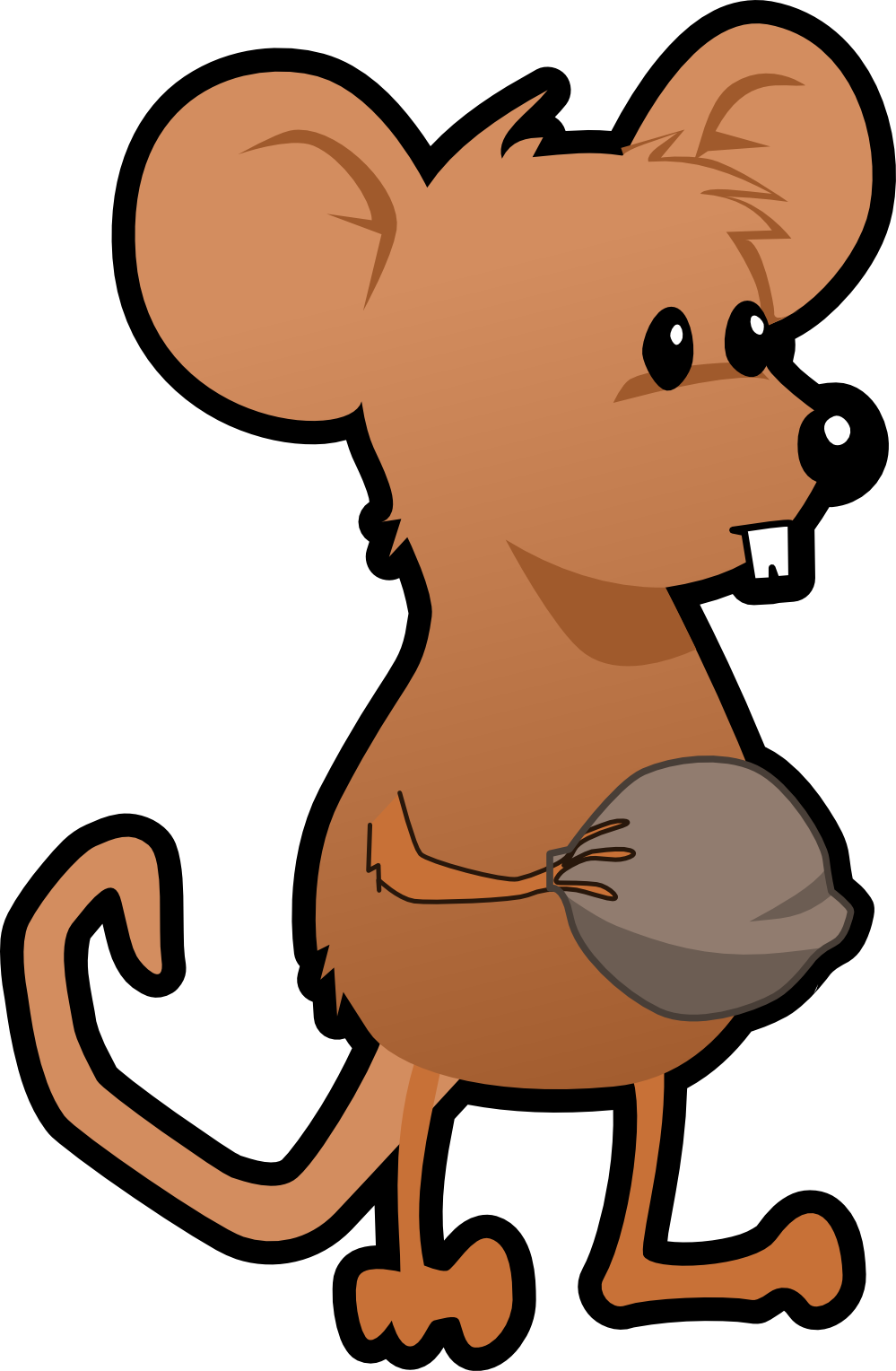 999x1528 Clip Art Mouse Rat Raton Art