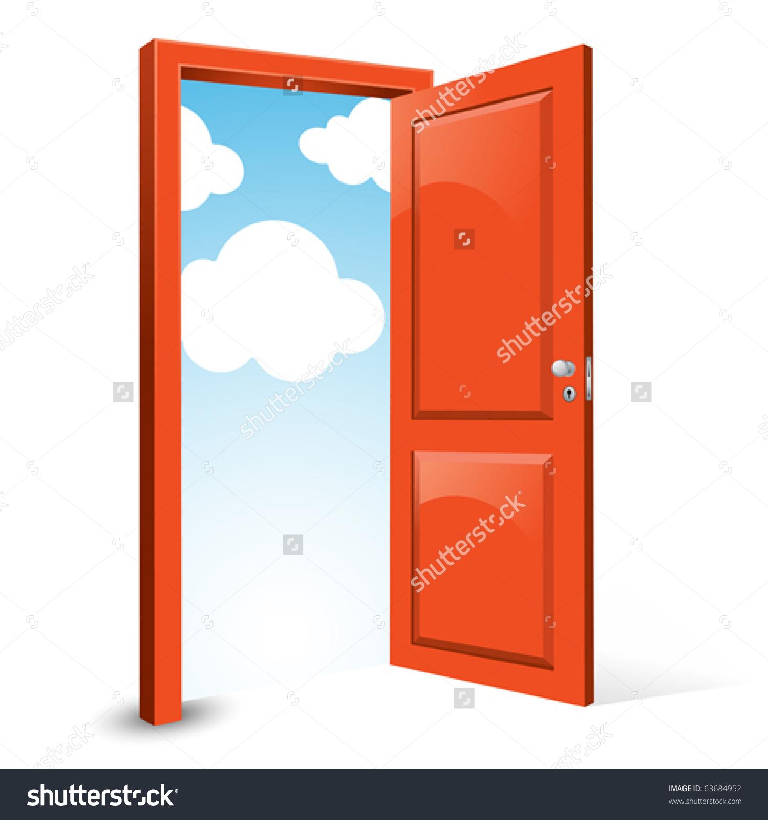 1500x1600 Door Clipart Opening Door