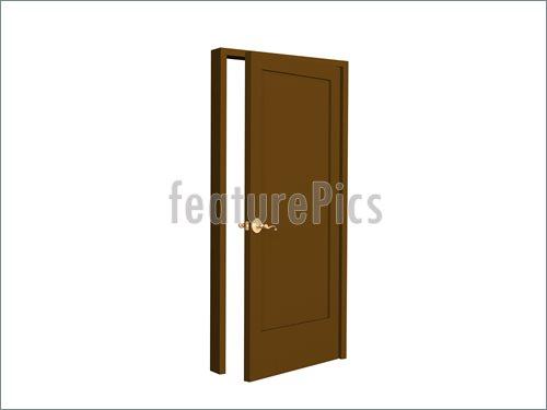 500x375 Open Door Clipart Closet Door
