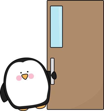 421x450 Open Door Clipart Cute Door