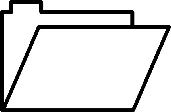 600x392 Folder Open Clip Art Free Vector In Open Office Drawing Svg ( Svg