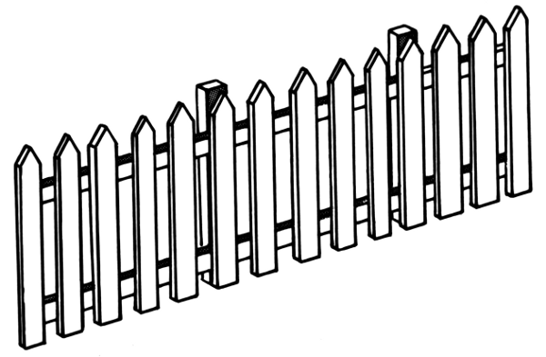 600x393 Glamorous Fence Clipart Eps Images 20 244 Clip Art Vector