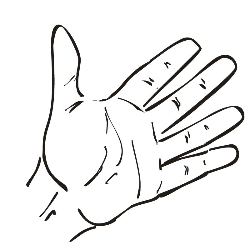 800x800 Winning Clipart Hand