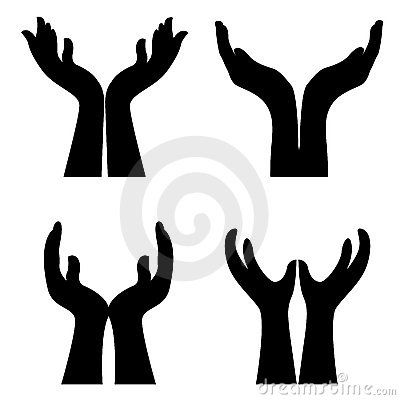 400x400 Hands Giving Clipart