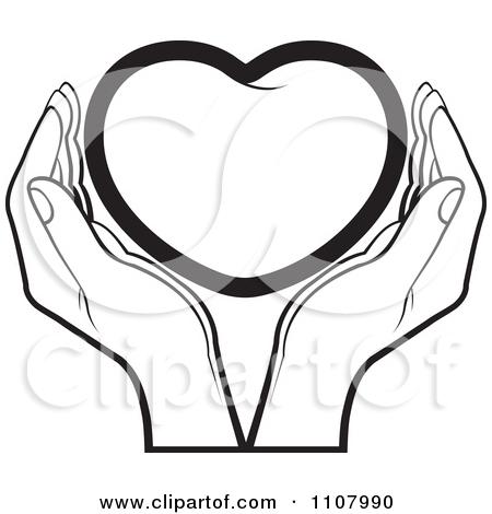 450x470 Hands Holding Heart Clipart 101 Clip Art