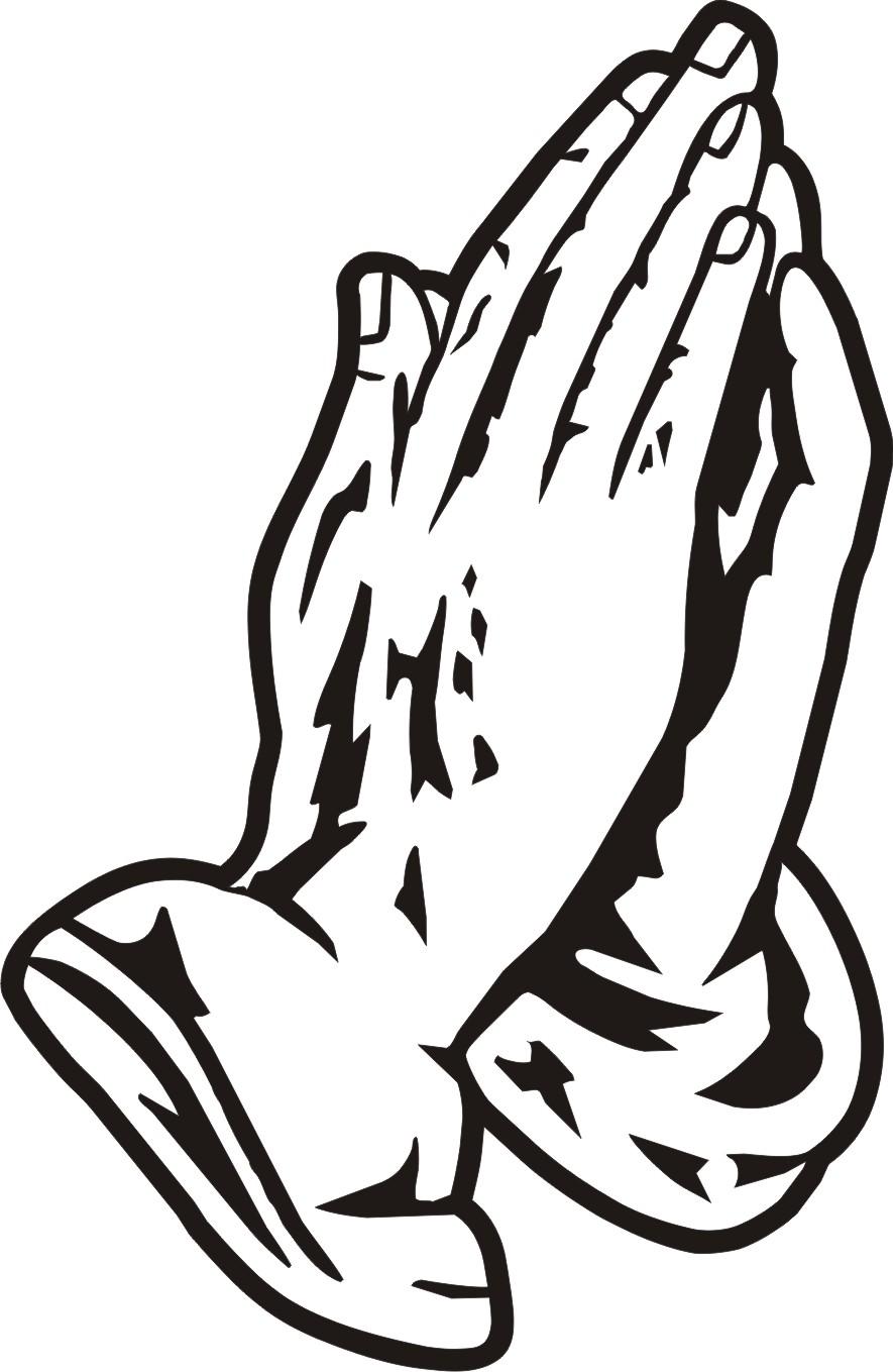 885x1359 Prayer Hands Open Clip Art