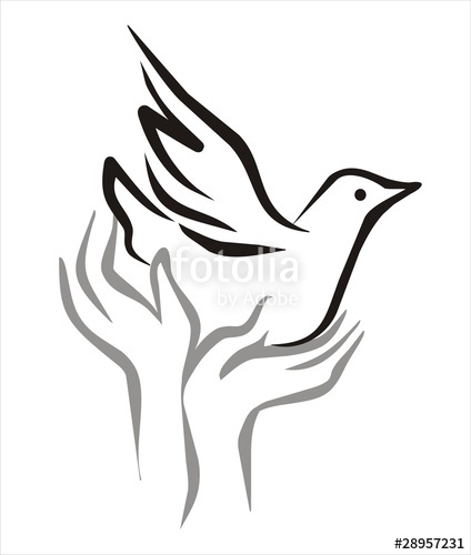 424x500 Hands And Bird Freedom Concept Stock Image And Royalty Free