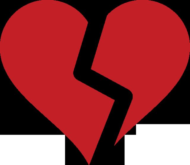 640x558 Broken Heart Symbol Broken Heart Symbol, Clip Art And Symbols