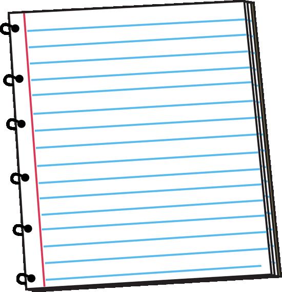 550x568 Notebook Clipart School Notebook
