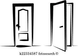 272x194 Open Door Clipart Royalty Free. 12,713 Open Door Clip Art Vector