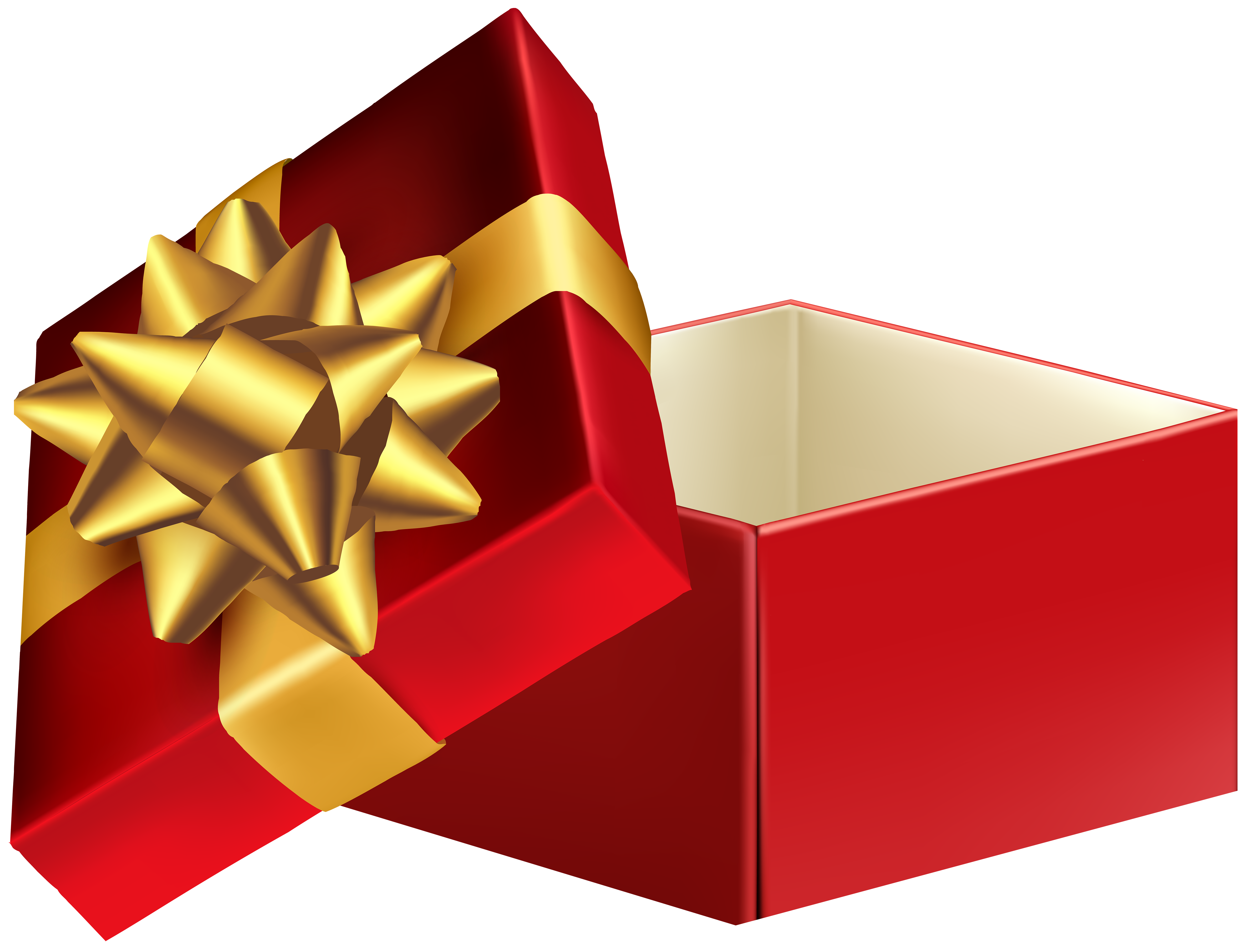 6000x4572 Gift Clipart Open Gift