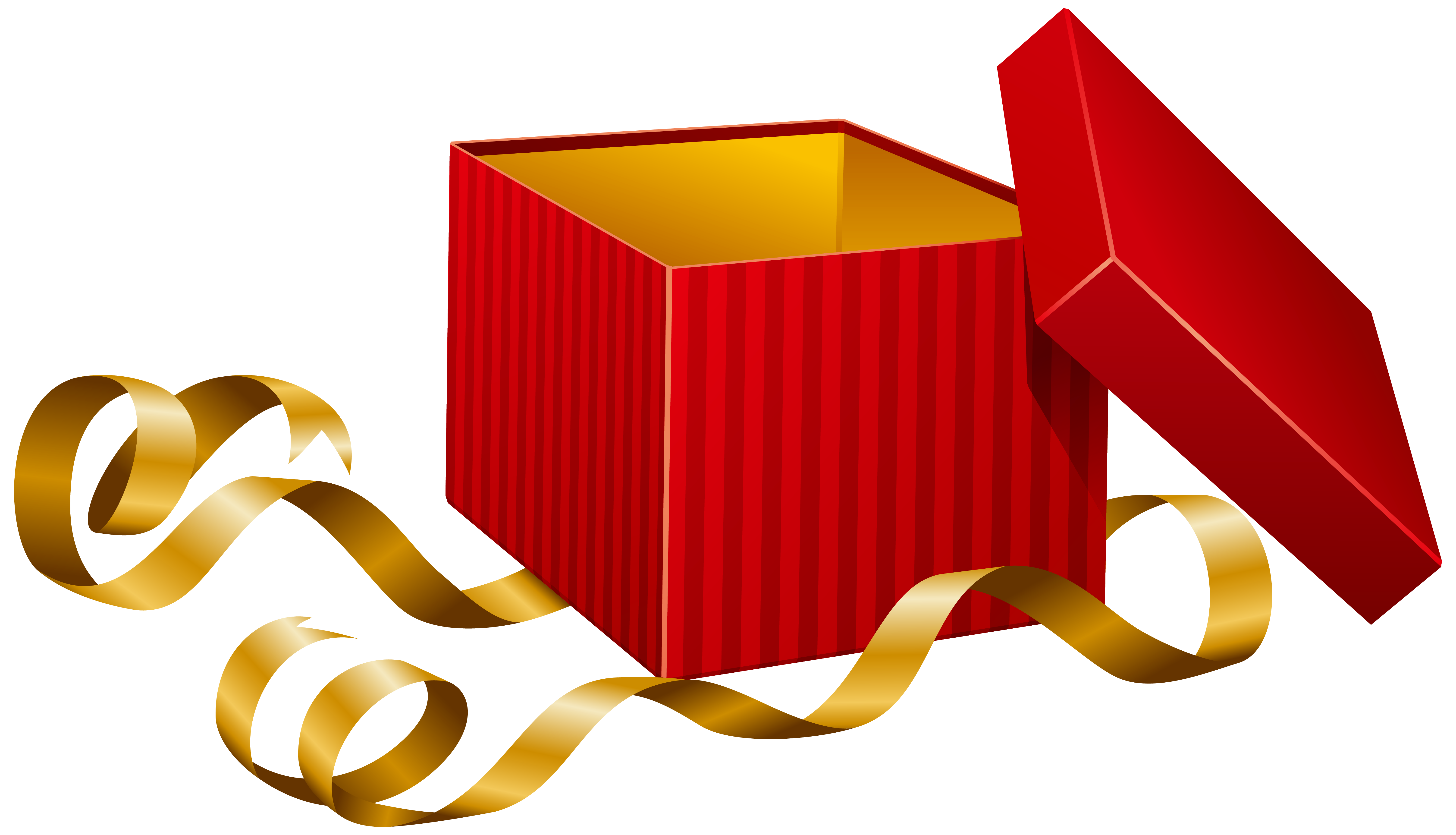 6288x3605 Gift Open T Clipart Image