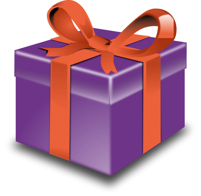 800x784 Open Birthday Present Clipart Free Images Image