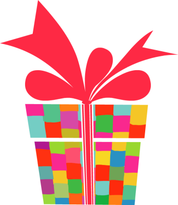 347x400 Box Clipart Birthday Present