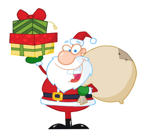 300x282 Christmas Gift Toy Clipart