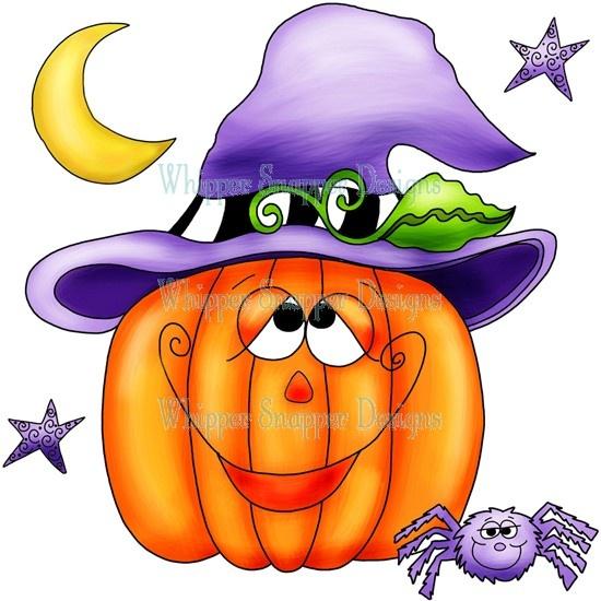 Open Pumpkin Clipart