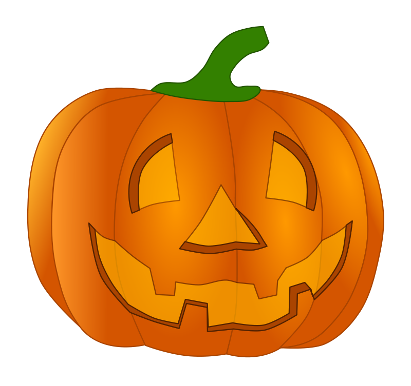 800x753 Pumpkin Clipart Vector