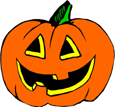 376x350 Drawn Pumpkin Animated