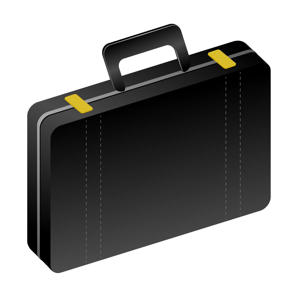 1250x1250 Open Suitcase Clipart