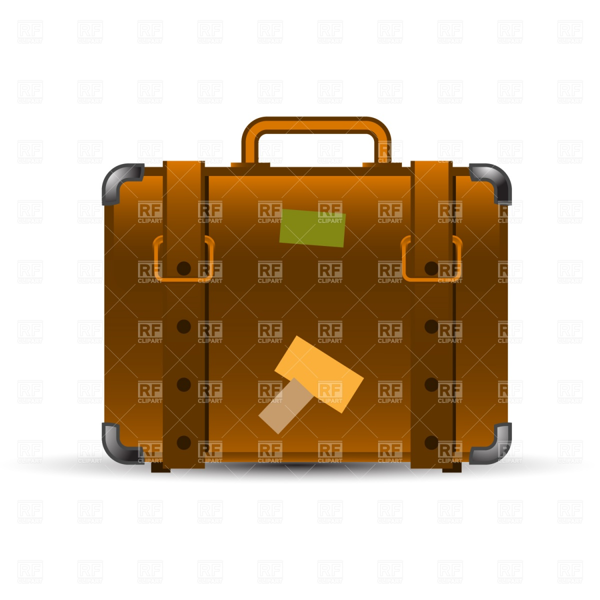 1200x1200 Open Black Suitcase With Money Royalty Free Vector Clip Art Image
