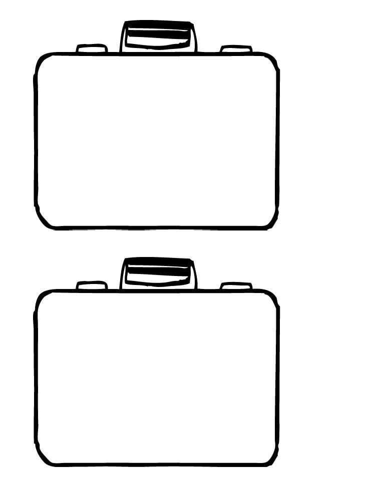 757x980 Open Suitcase Clipart Free Download Clip Art