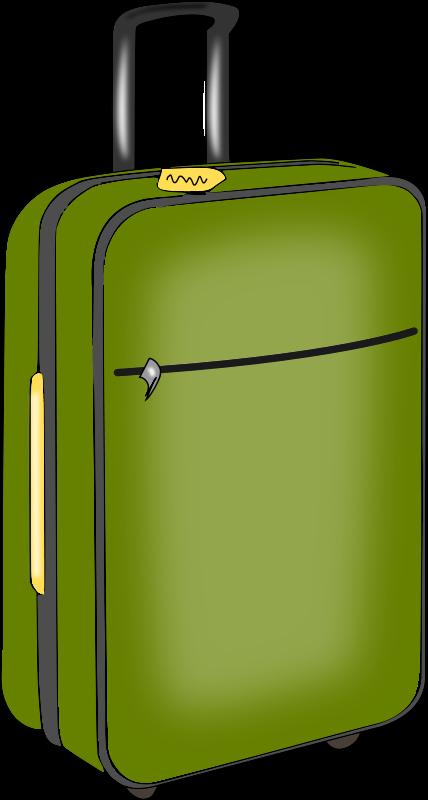 428x800 Open Suitcase Travel Suitcase Clip Art Free Clipart Images