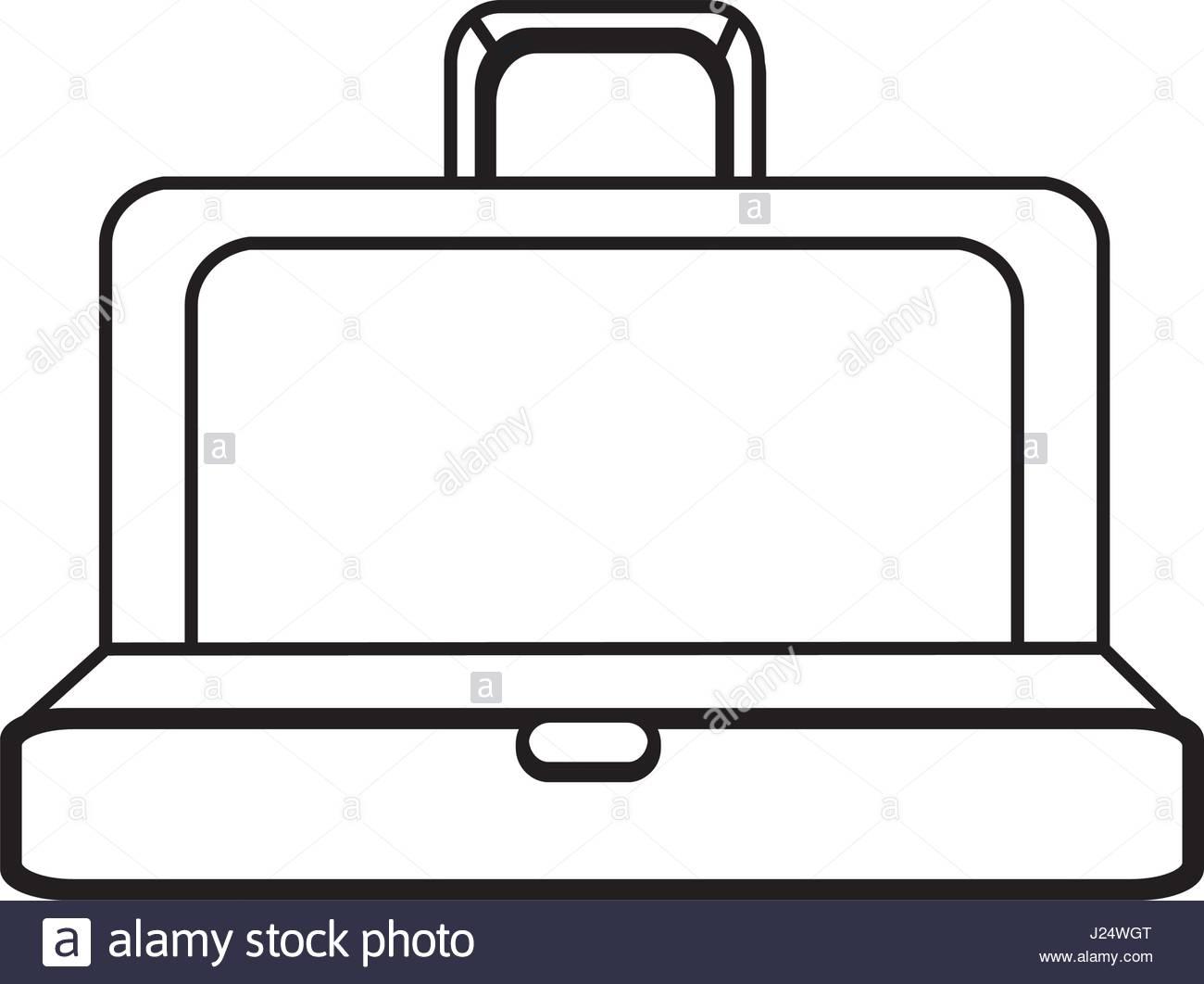 1300x1062 Figure Elegant Suitcase Open Stock Vector Art Amp Illustration
