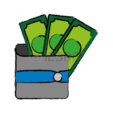 450x450 3,385 Retro Wallet Cliparts, Stock Vector And Royalty Free Retro