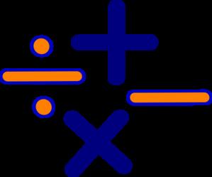 299x249 Math Signs Clip Art