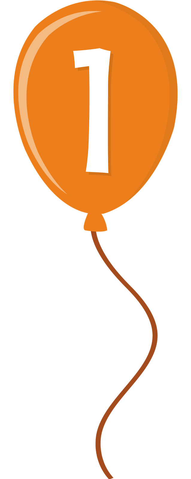 638x1600 Orange Clipart Baloon