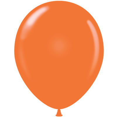 400x400 Single Clipart Orange Balloon