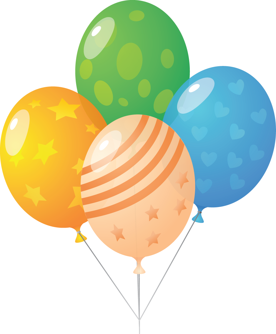 938x1134 Balloon Clipart Transparent Background