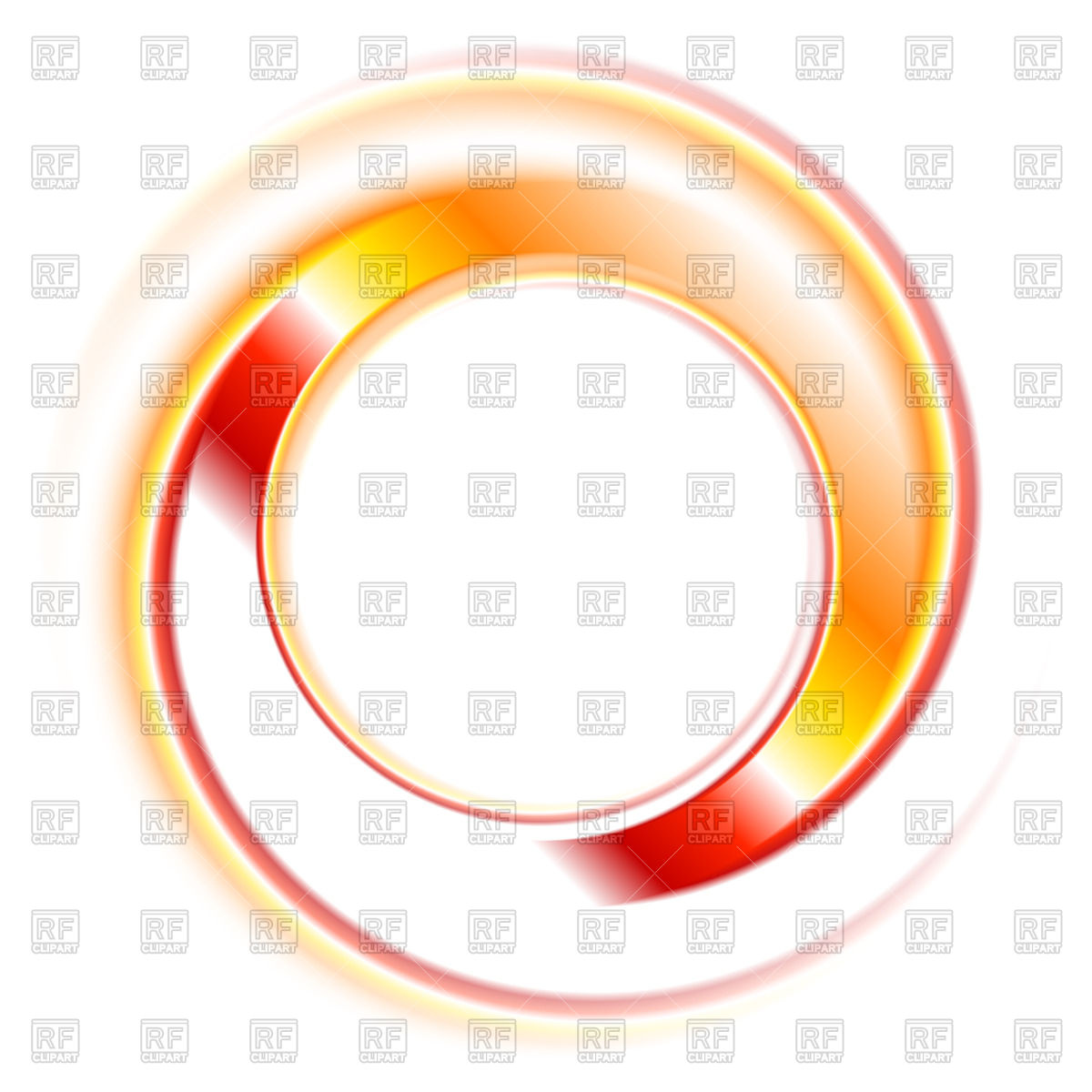 Orange Circle Clipart