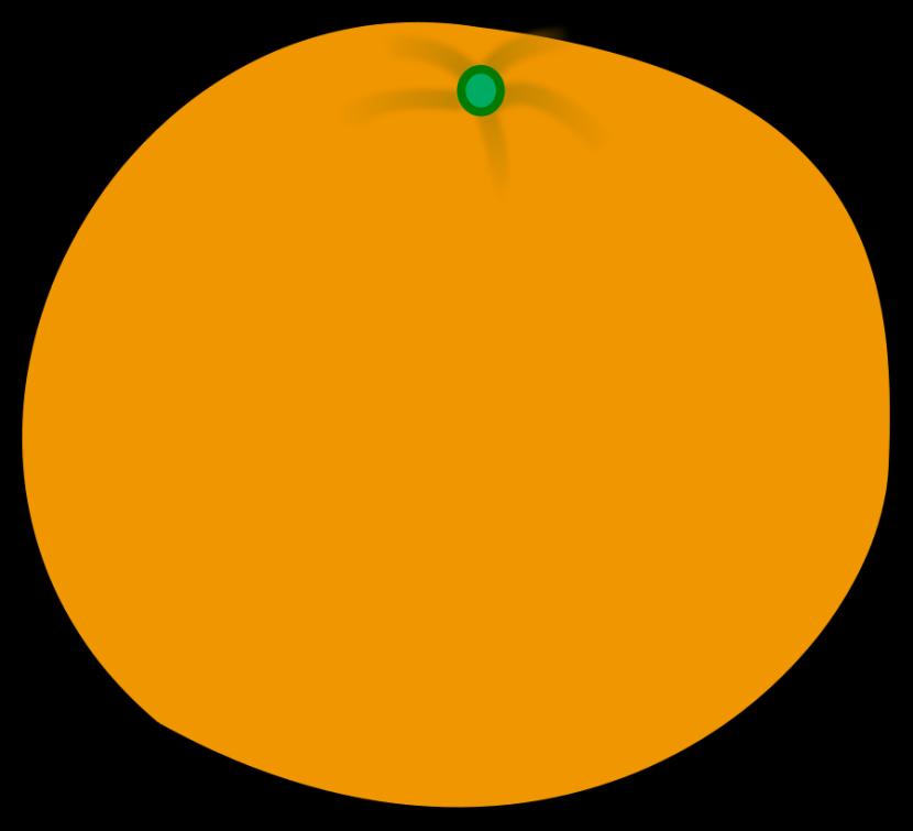 830x755 Clip Art Orange